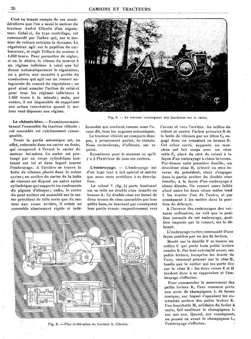 100 ans de CITROEN Tracte20