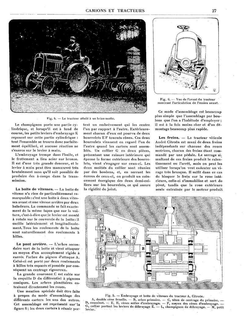 tracteur CITROËN Tracte21