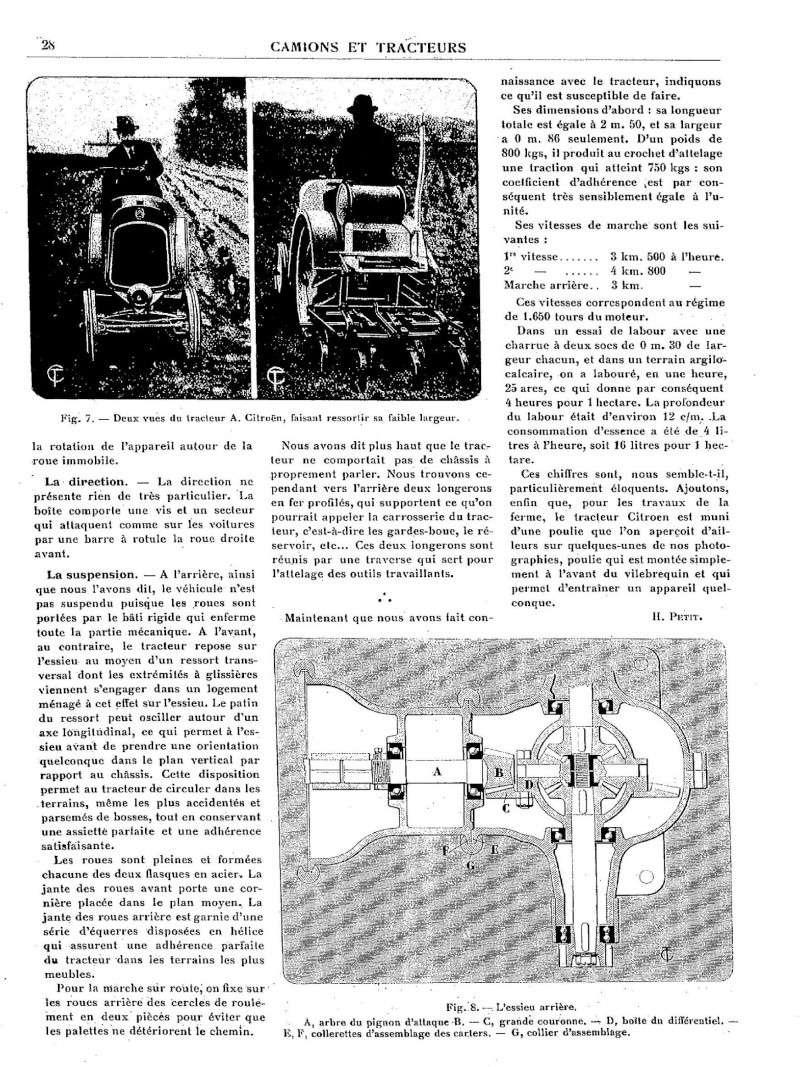 tracteur CITROËN Tracte22
