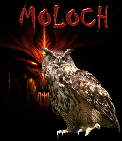 """MOLOCH,  """"EL DIOS BUHO"""" Tj1210"""