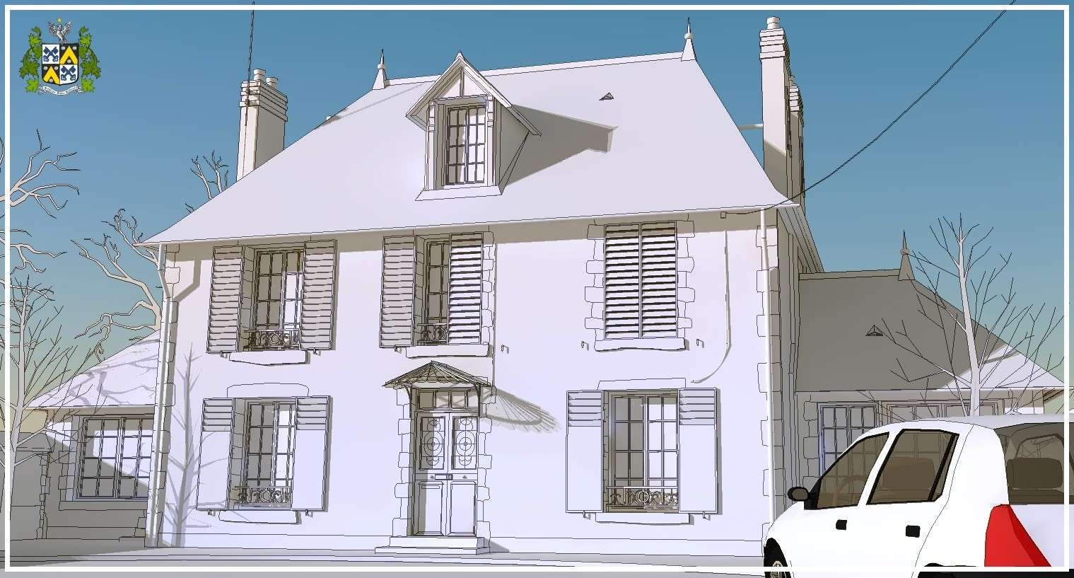 SketchUp'eur architecte -AnthO'- - Page 26 House010