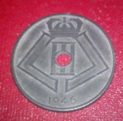 25 Centimes. Bélgica. 1946 Dsc00310