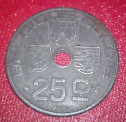 25 Centimes. Bélgica. 1946 Dsc00311