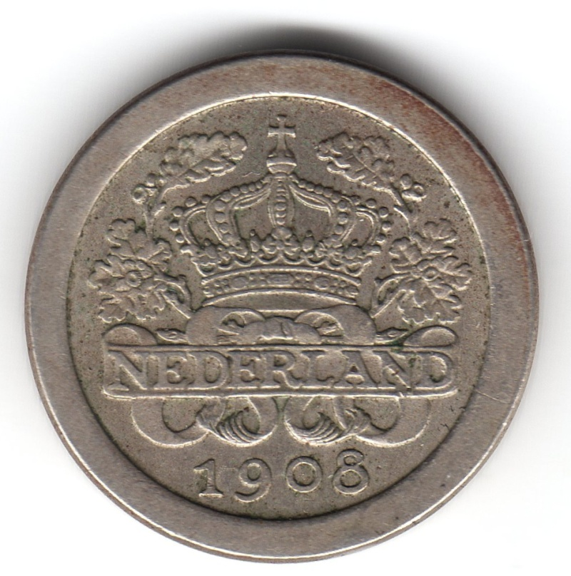 5 Cents. Holanda. 1908. Utrecht Img09710