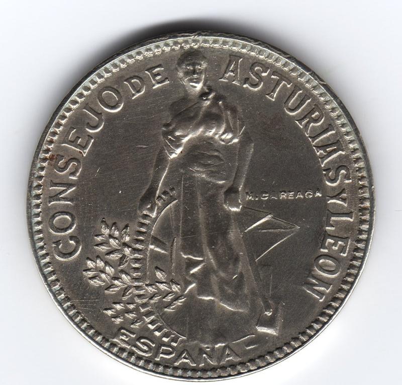 Sr. Mateo Careaga Guisasola, grabador de las monedas del Consejo de Asturias y león. Img16510