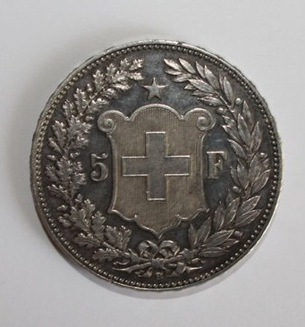 5 Francs. Suiza. 1912. Berna Img_1012