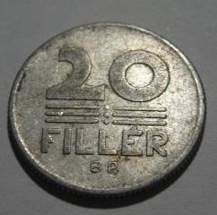 20 Fillér. Hungría. 1968. Budapest P1020311