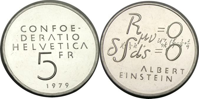 5 Francs. Suiza. 1979 T2ec1611