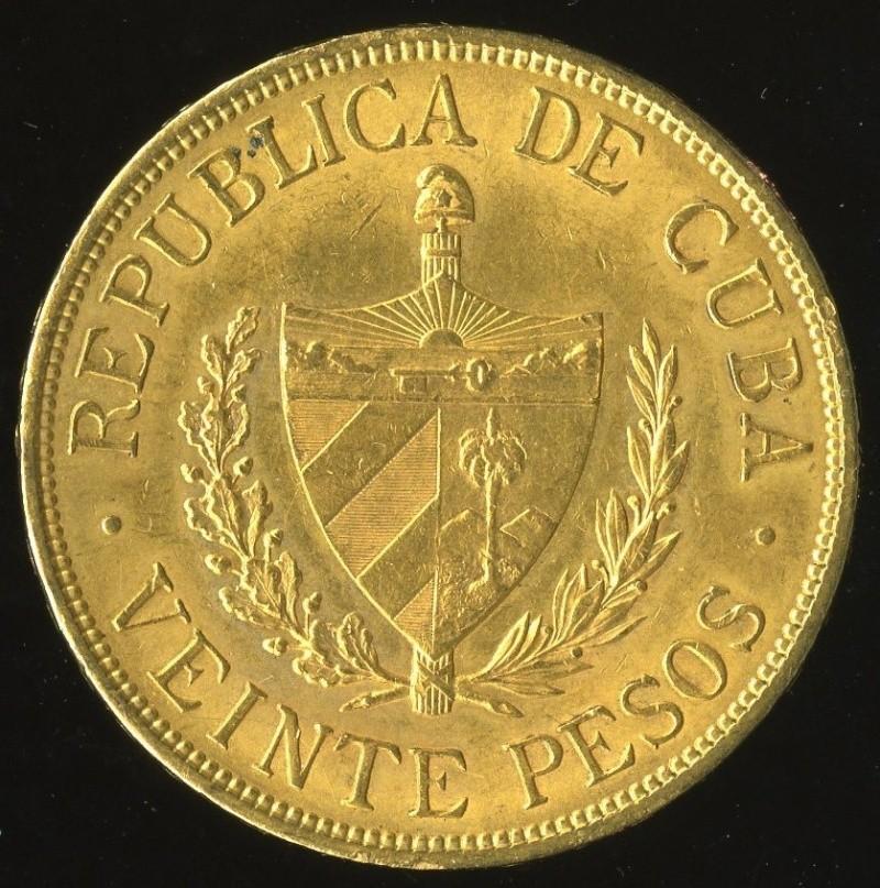 20 Pesos, (José Martí). Cuba. 1915 T2ec1612