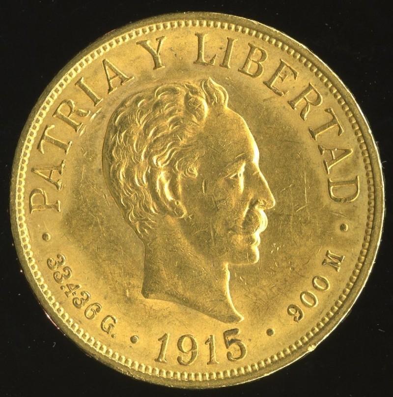 20 Pesos, (José Martí). Cuba. 1915 T2ec1613