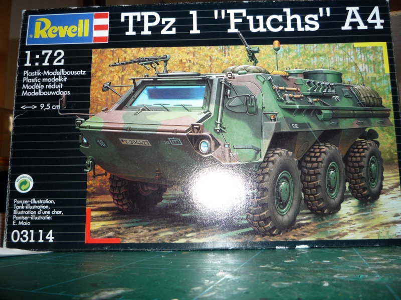 M93 FOX  1/72 Revell (base TPZ1 FUCHS) P1050910