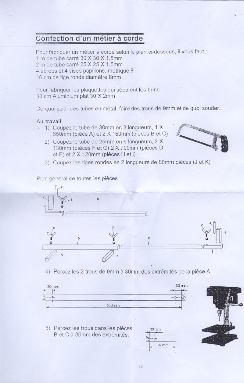Recherche : Plan pour fabriquer un métier a corde Metier10