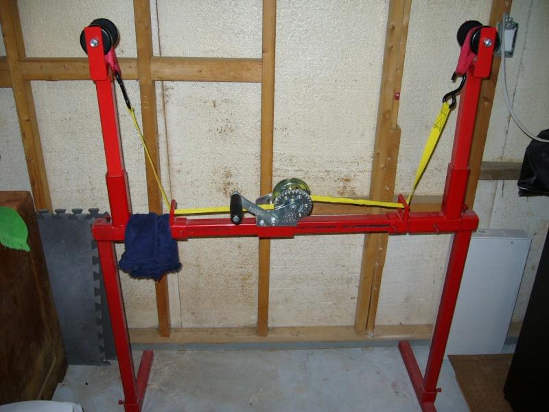 Fabrication d'une presse pour compound P1030810