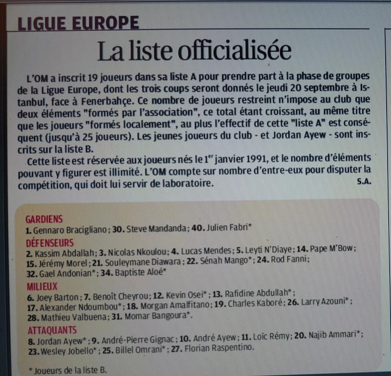 """LA CAVERNE DES TROPHEES DE L""""OM - Page 14 P1300915"""