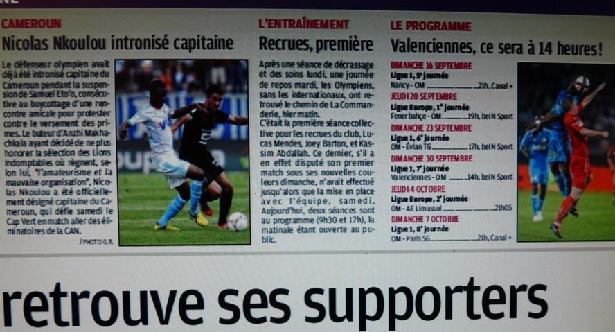 NEWS DE L'OM - Page 3 P1300928