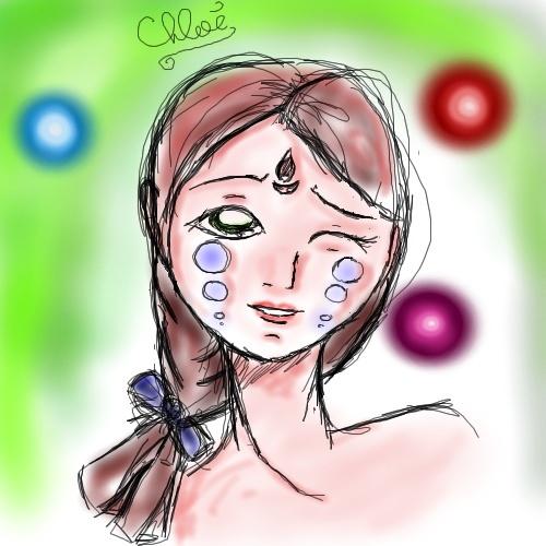 mes dessins et collo Oekaki10