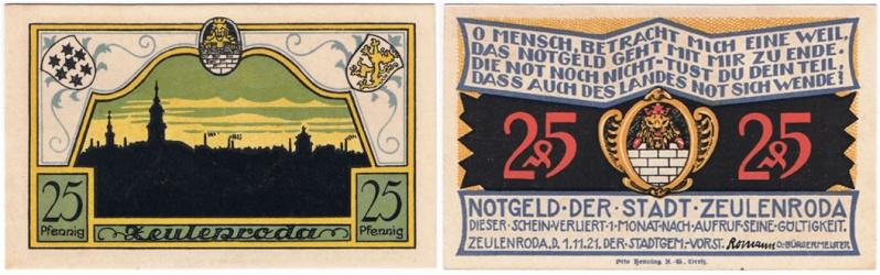 Selección de Notgeld de varios usuarios de OMNI Notgel17