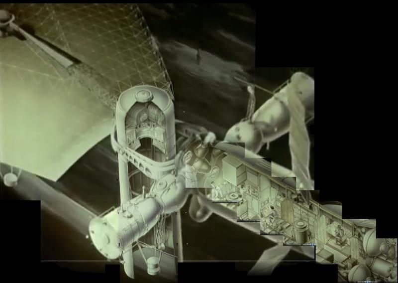 Qui connait ce projet de radio télescope sur Saliout 6 occupée par 4 cosmonautes ? 01_glo10
