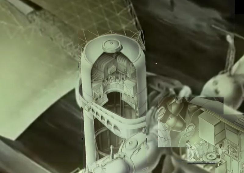 Qui connait ce projet de radio télescope sur Saliout 6 occupée par 4 cosmonautes ? 02_dis10