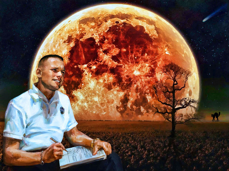 Poster Neil Armstrong 78965010