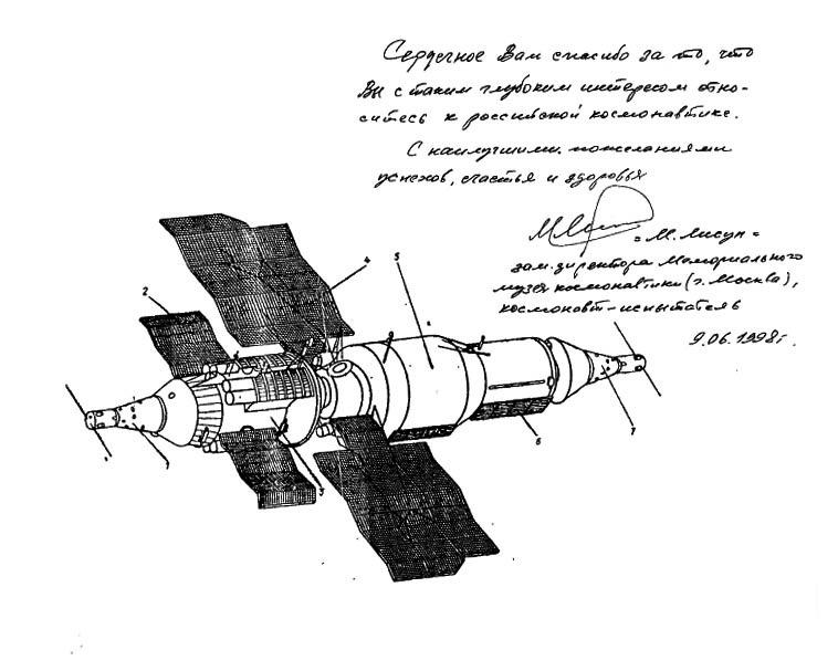 Disparition du cosmonaute Mikhaïl Lissounn Almaz_10