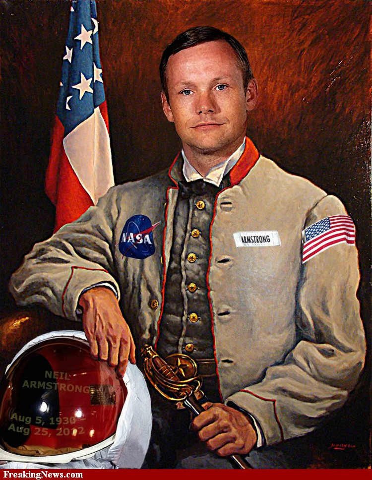 Poster Neil Armstrong Americ10