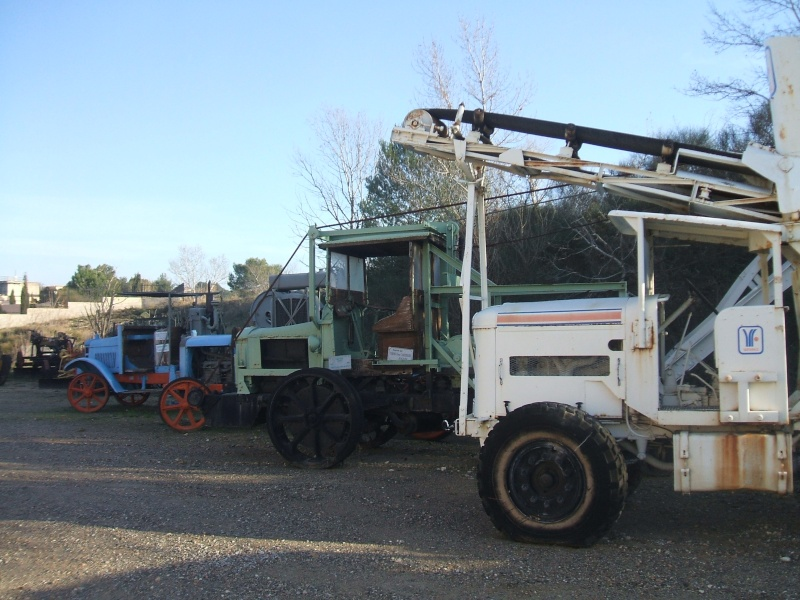 Les véhicules du centre de formation Emile Picot Centre13