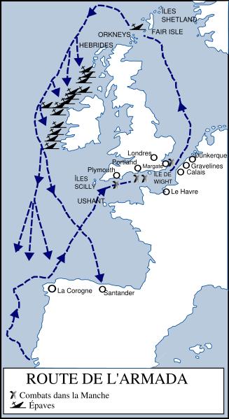 Des navires de l'Invincible Armada échoués le long des côtes d'Irlande Armada10