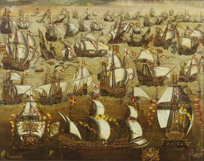 Des navires de l'Invincible Armada échoués le long des côtes d'Irlande Armada13