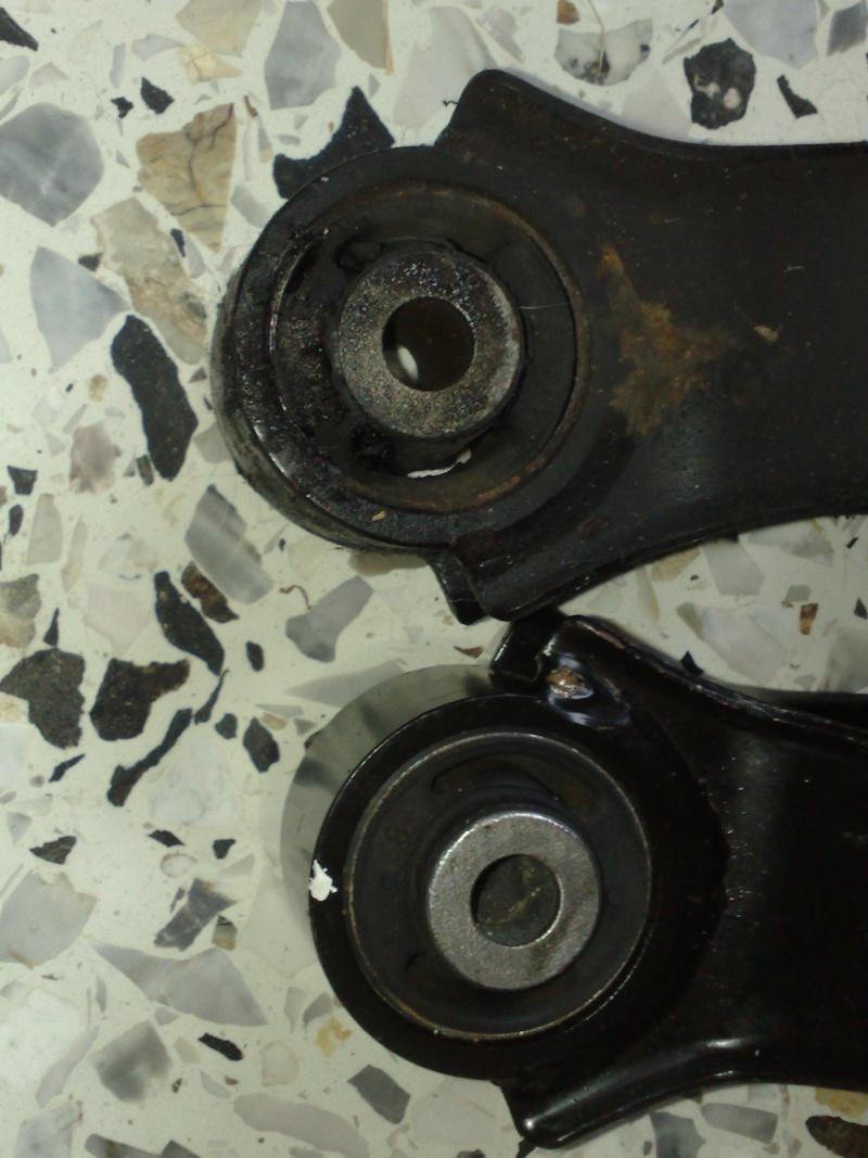 vibrations sur S2, fuites d'huile et accessoirement explosion de boite....! Suport12