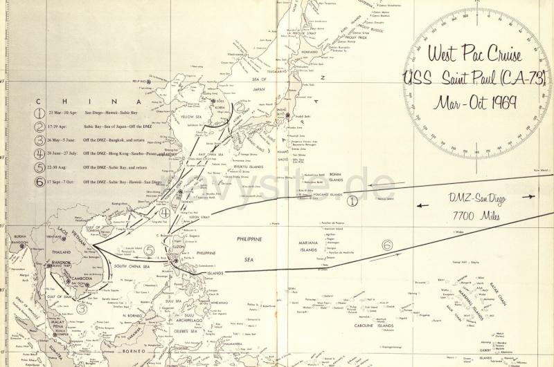 Zippos de navires US Navy ayant fait le Vietnam West_p10
