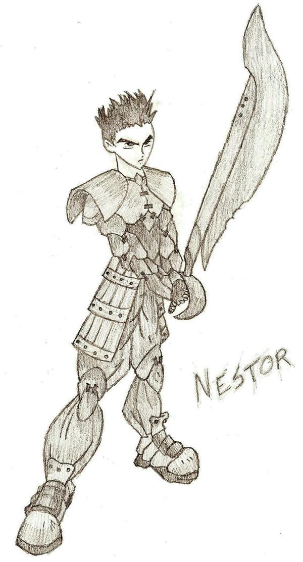L'Art de Crow Master Nestor10