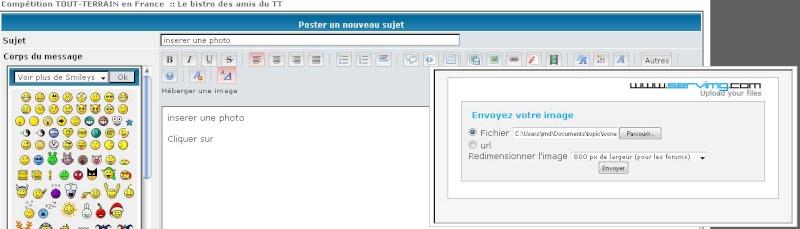 tuto: comment inserrer une image sur le forum - Page 2 Insere12