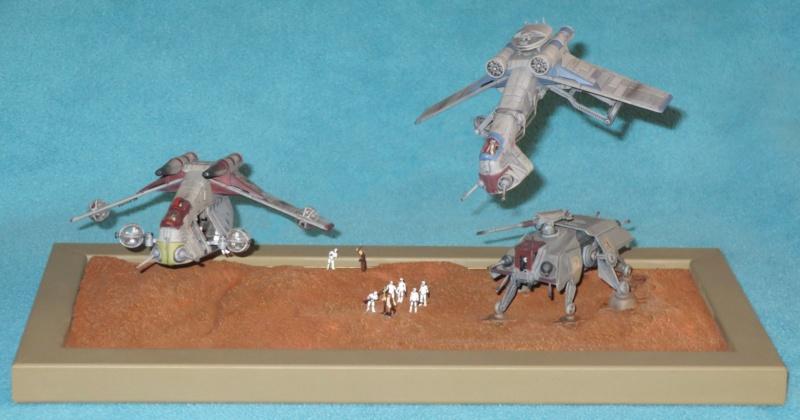 STAR WARS : bataille de Géonosis (1/175ème) Batail10