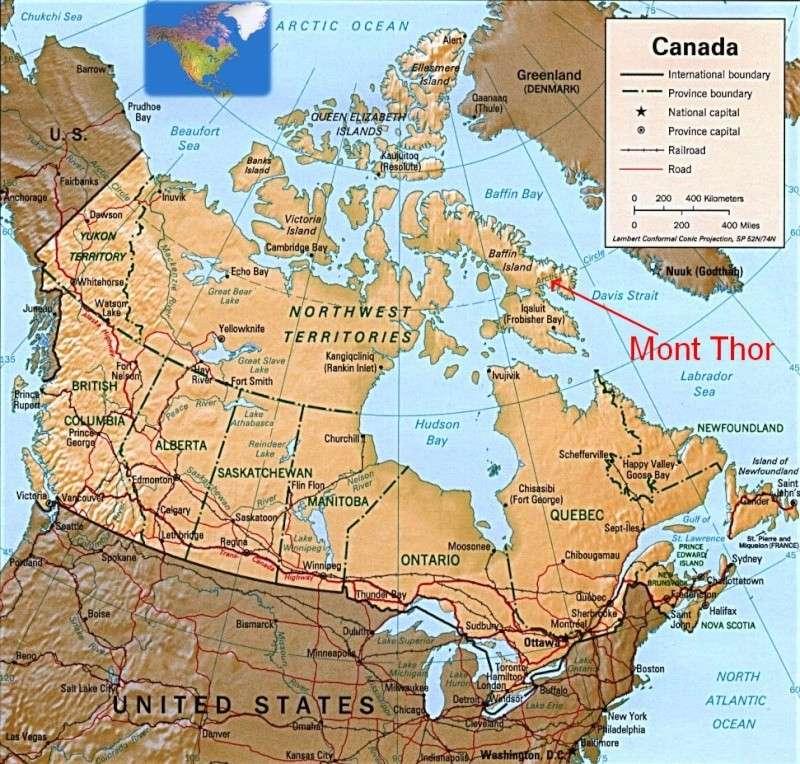 Les endroits les plus extrêmes Canada10