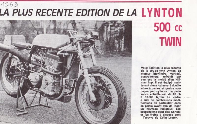 La LYNTON 500, avec un Y...  29728210