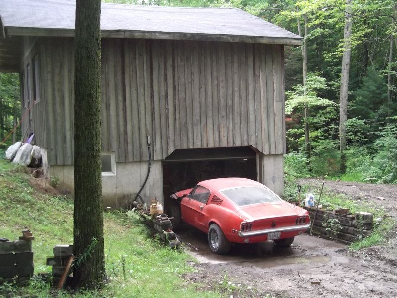 Un barn find au Quebec...., he oui ca se peut! Mustan12