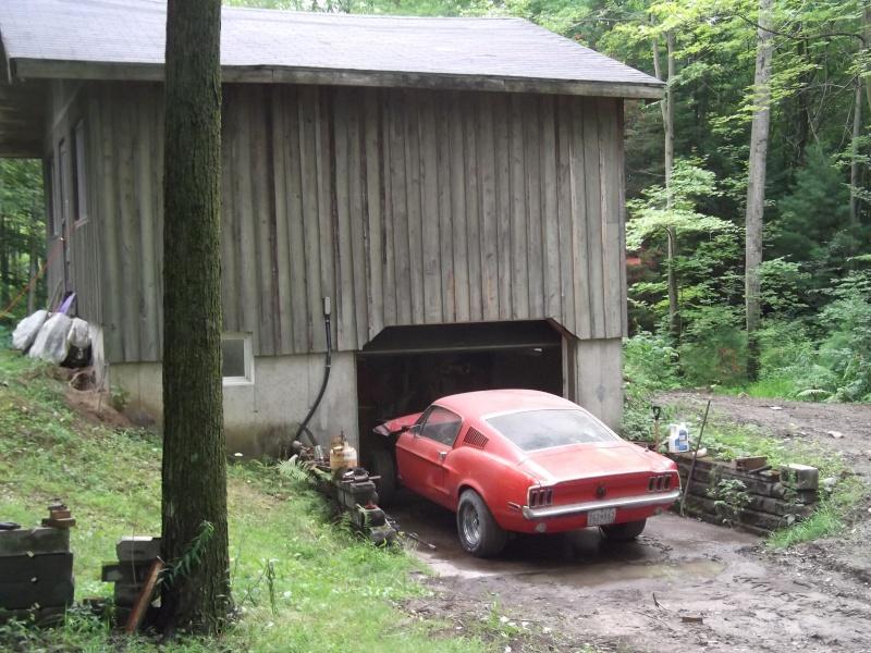 Un barn find au Quebec...., he oui ca se peut! Mustan13