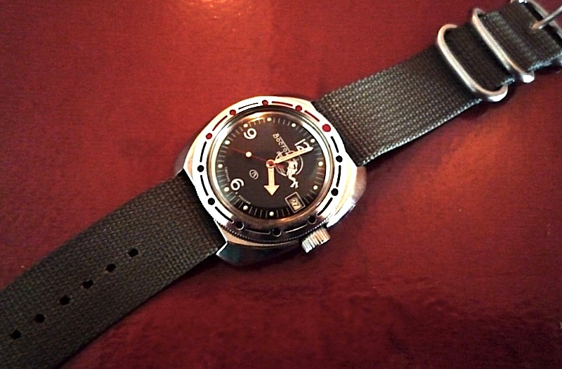 Question cadran Vostok Amphibian Ministry Vostok13