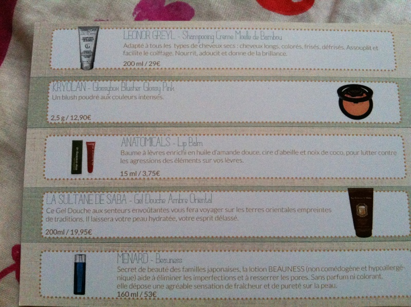 """[Octobre 2012] Glossybox """"Home Spa"""" - Page 33 Img_2014"""