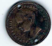 Reproduc. sobre 50 cts. Ptas. de Alfonso XIII (1900 d.C) Img20810