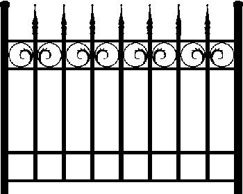 Graveyard Idea- Tombstone/Monument/Mausoleum Ref. Images Fence-10