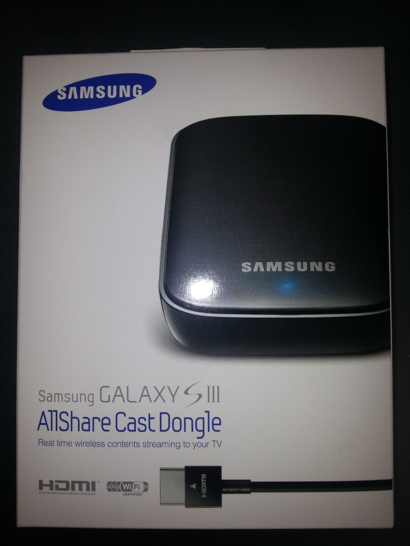 [ACCESSOIRE ] Allshare Cast Dongle pour galaxy s3,note2,tablet note10.1 ... 20121015
