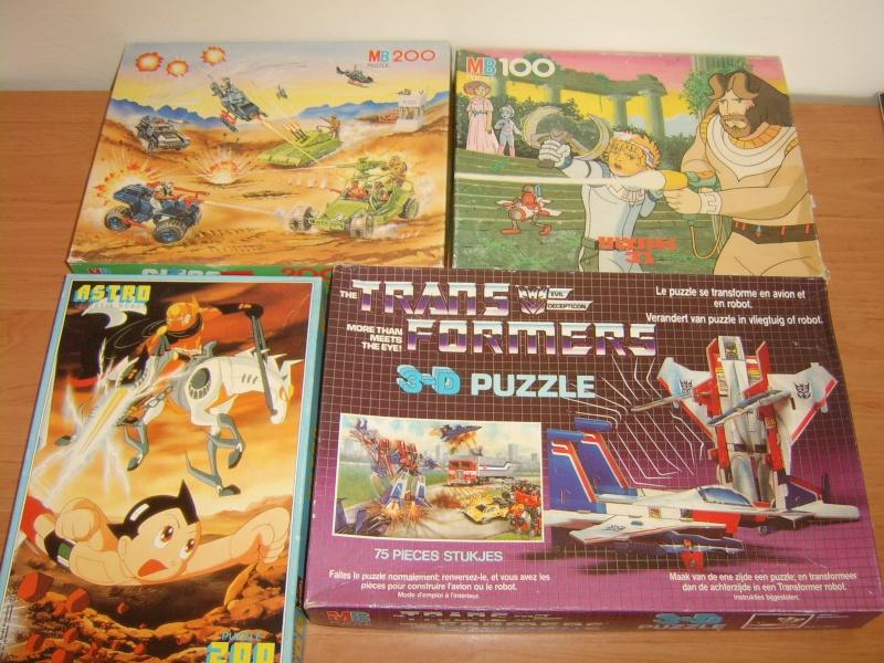 Les puzzles 80's de D.A, séries ou de  gamme de jouets.... Puzzle11