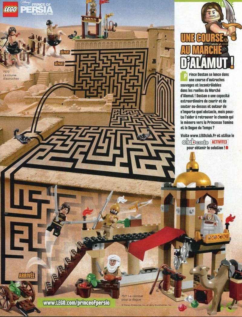 [Comics] LEGO Magazine mai - juin 2010 Diapos12