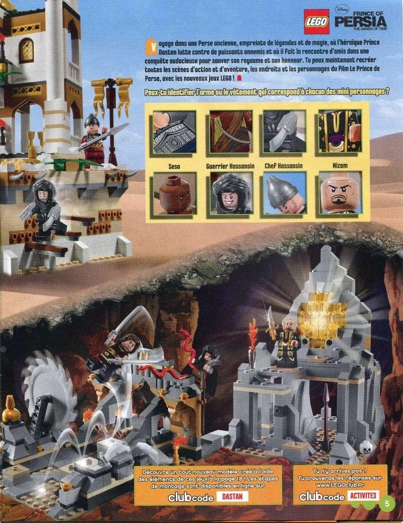 [Comics] LEGO Magazine mai - juin 2010 Diapos14