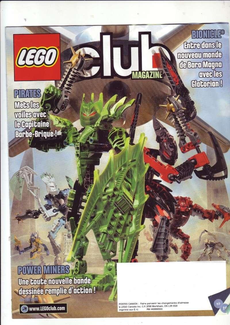 [Comics] VF de la 1ère BD 2009 «les sable de bara magna» et du LEGO Magazine Save0010