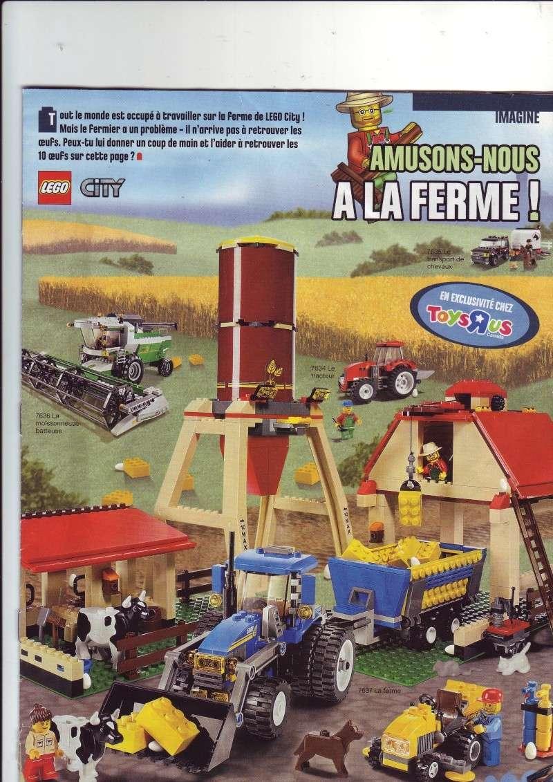 [Comics] VF de la 1ère BD 2009 «les sable de bara magna» et du LEGO Magazine Save0012
