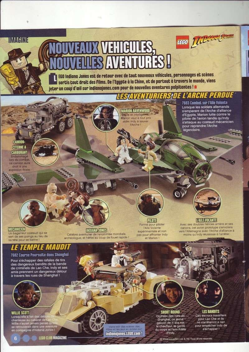 [Comics] VF de la 1ère BD 2009 «les sable de bara magna» et du LEGO Magazine Save0015