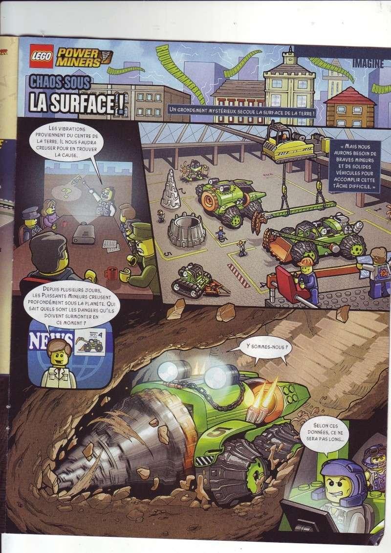 [Comics] VF de la 1ère BD 2009 «les sable de bara magna» et du LEGO Magazine Save0016